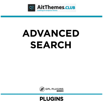 Advanced Search - by AitThemes