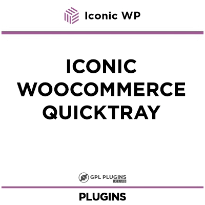 Iconic WooCommerce QuickTray