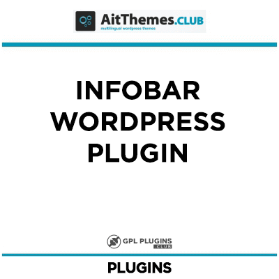 Infobar WordPress Plugin - by AitThemes