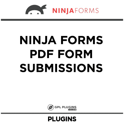 Ninja Forms PDF Form Submissions