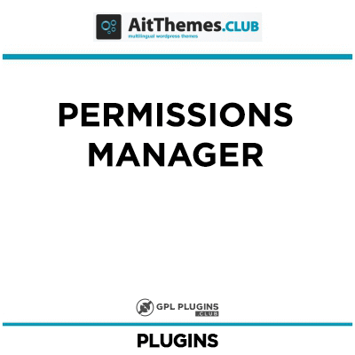 Permissions Manager - by AitThemes