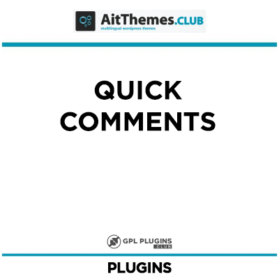 Quick Comments - by AitThemes