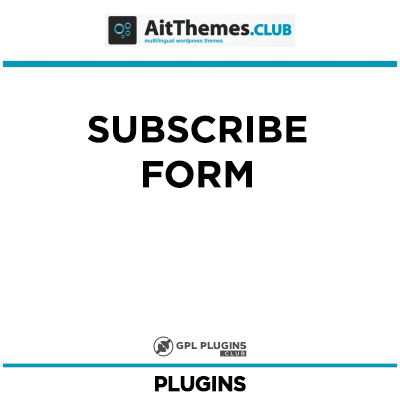 Subscribe Form - by AitThemes