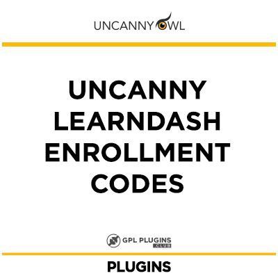Uncanny Learndash Enrollment Codes