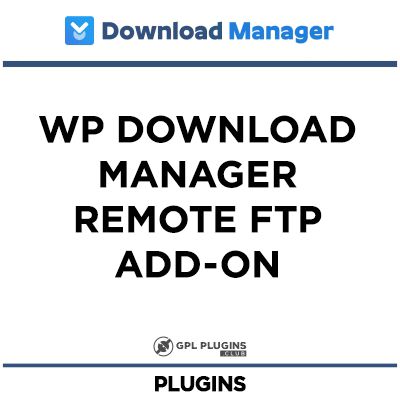 WP Download Manager Remote FTP Add-on