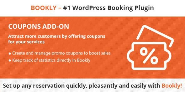 Bookly Coupons