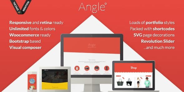 Angle - Flat Responsive Bootstrap MultiPurpose Theme