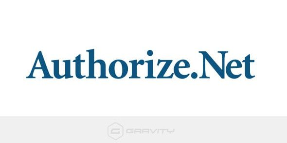 Gravity Forms: Authorize.net