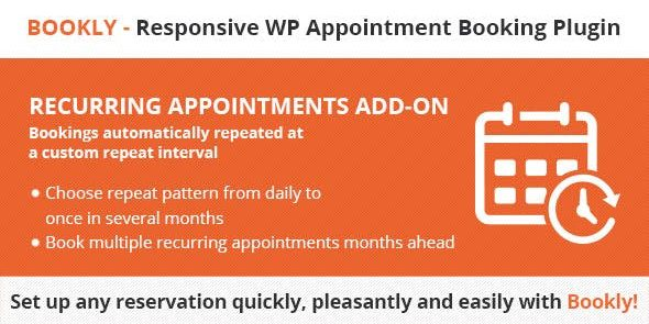 Bookly Recurring Appointments