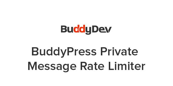 BuddyPress Private Message Rate Limiter