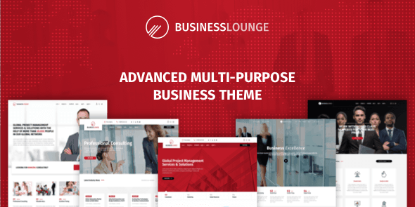 Business Lounge - Multi-Purpose Business & Consulting Theme