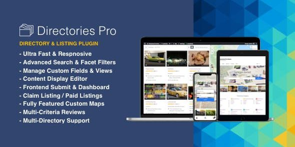 Directories Pro - plugin for WordPress
