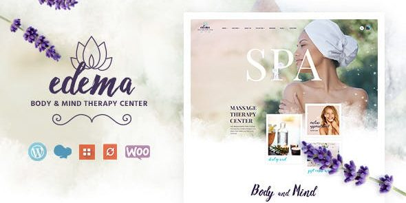Edema - Wellness & Spa WordPress Theme