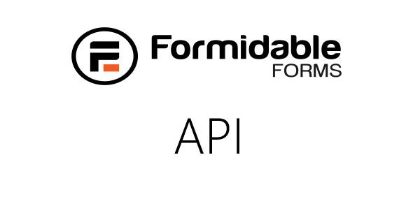 Formidable API