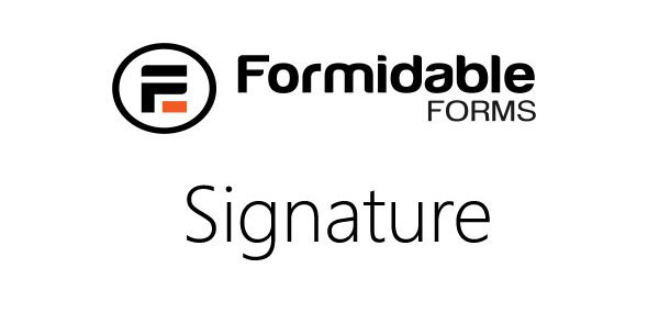Formidable Signature field