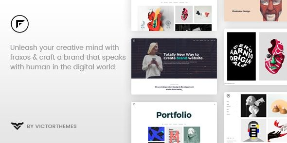 Fraxos - Creative Portfolio WordPress Theme
