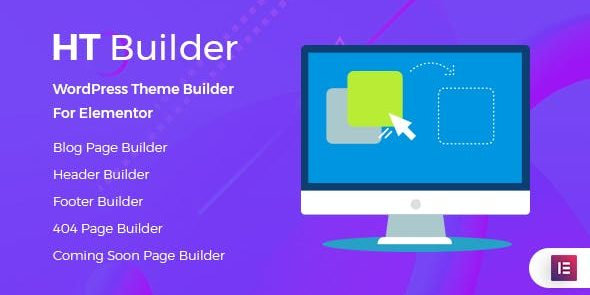 HT Builder Pro - WordPress Theme Builder for Elementor
