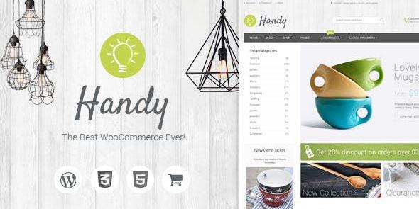 Handy - Handmade Items Marketplace Theme