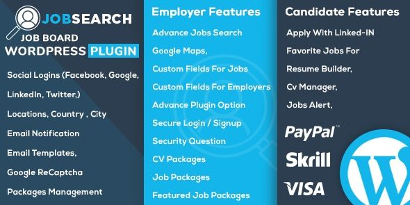 JobSearch WP Job Board - Wordpress Plugin