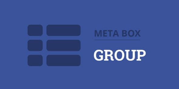 Meta Box: Group