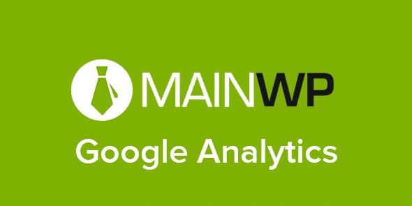 MainWP: Google Analytics
