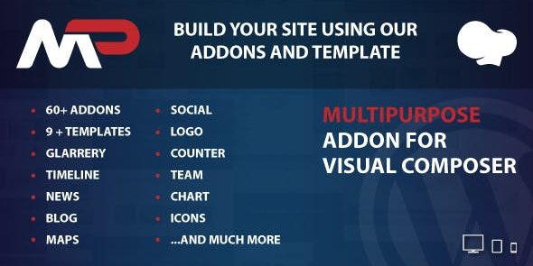 MultiPurpose Addons for WPBakery Page Builder - Wordpress Plugin