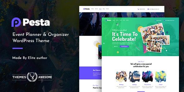 Pesta - Event Planner & Organizer WordPress Theme
