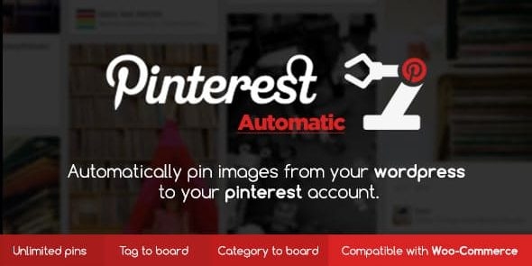 Pinterest Automatic Pin - Wordpress Plugin