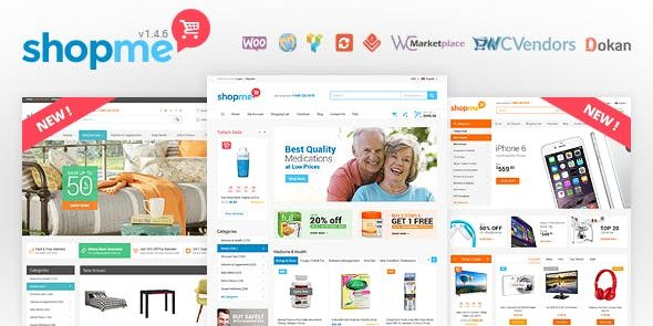 ShopMe - Multi Vendor Woocommerce WordPress Theme
