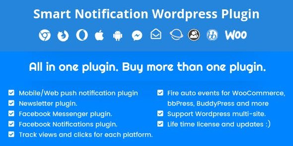 Smart Notification - Wordpress Plugin