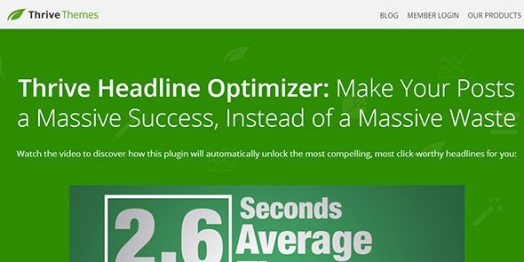 Thrive Headline Optimizer - ThriveThemes Plugin