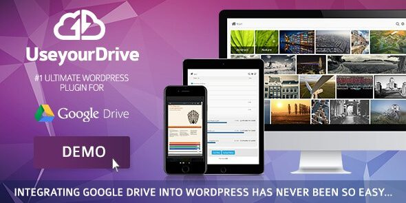 Use-your-Drive - Google Drive plugin for WordPress