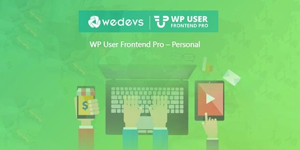 WeDevs: WP User Frontend Pro Business