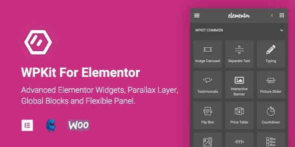 WPKit For Elementor - Advanced Elementor Widgets Collection & Parallax Layer