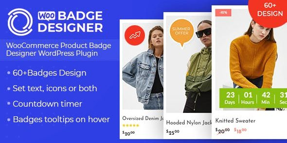 Woo Badge Designer - WooCommerce Product Badge Designer WordPress Plugin