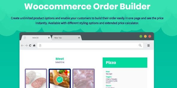 WooCommerce Order Builder - Combo Products & Extra Options