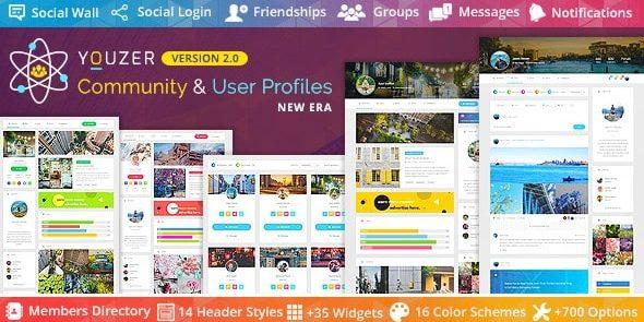 Youzer - Buddypress Community & WordPress User Profile Plugin