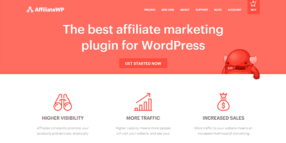 AffiliateWP Core - Wordpress Plugin