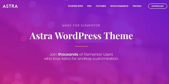 Astra - WordPress Theme