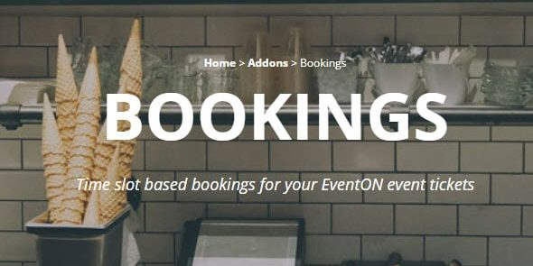 EventON: Bookings