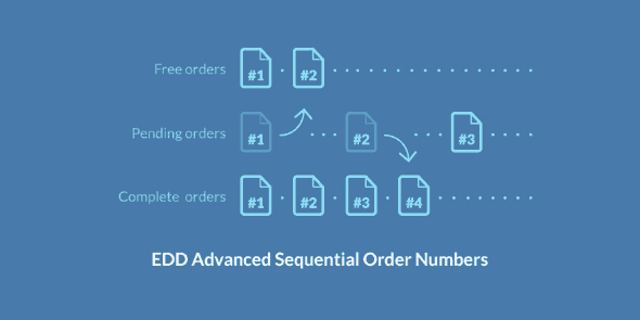 Easy Digital Downloads: Advanced Sequential Order Numbers