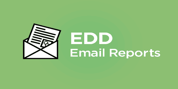 Easy Digital Downloads: Email Reports