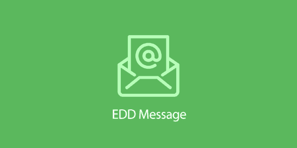 Easy Digital Downloads: Message Addon