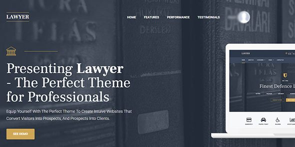 My Themes Shop: Lawyer