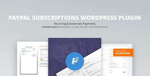 PayPal Subscriptions - WordPress Plugin