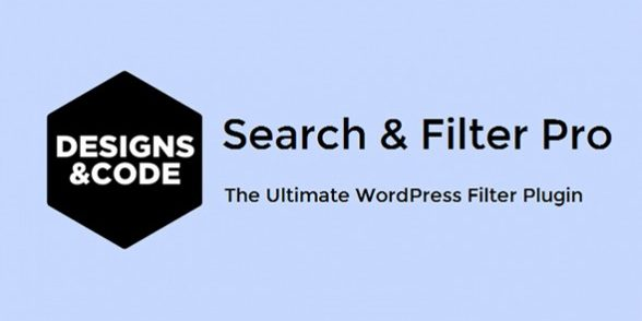 Search & Filter Pro - The Ultimate WordPress Filter Plugin