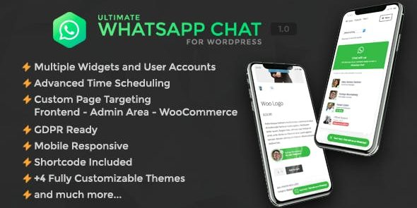 Ultimate WhatsApp Chat Support for WordPress