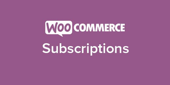 WooCommerce: Subscriptions
