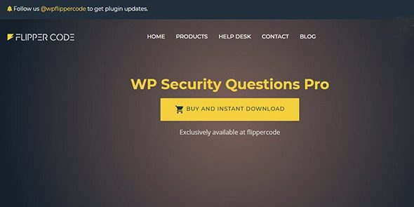 WP Security Questions Pro