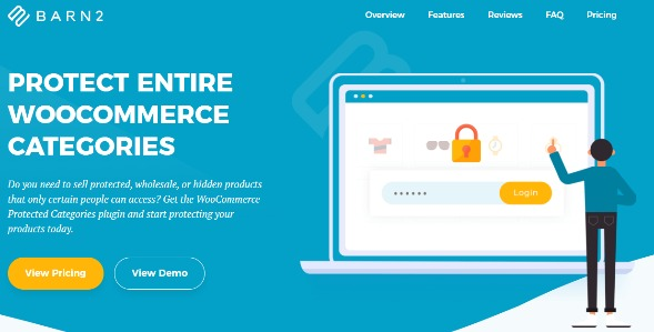 WooCommerce Protected Categories - Barn2 Media